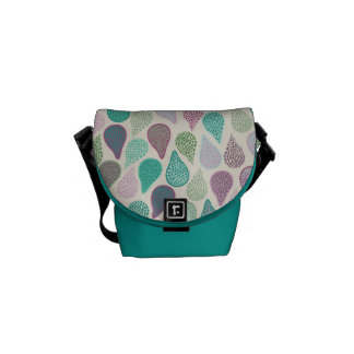 Drop in A drop pastels Messenger Bags