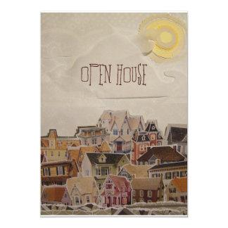 Drop In Collage Housewarming - Card