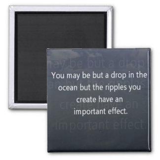 drop in the ocean magnet