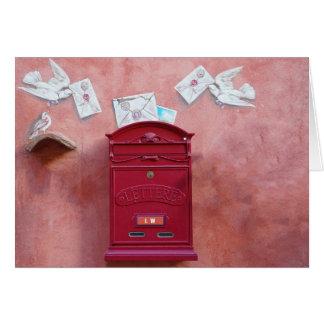 Drop Me A Letter Mr. Postman Card
