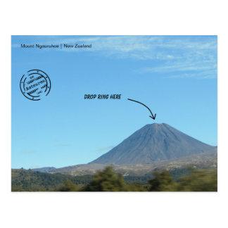 """Drop ring Here"" postcard"
