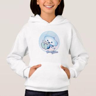 Drop sins sweater shirt with hood for children