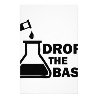 Drop the Base Stationery