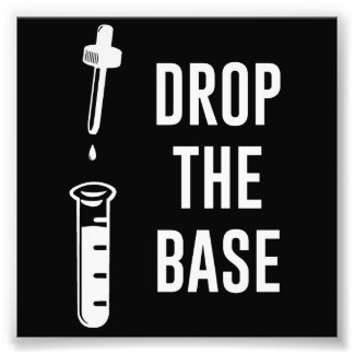 Drop the Bass Chemistry Base Art Photo
