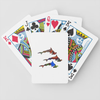 DROP THE HAMMERS BICYCLE PLAYING CARDS