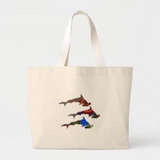 DROP THE HAMMERS LARGE TOTE BAG