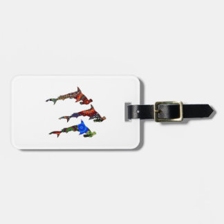 DROP THE HAMMERS LUGGAGE TAG