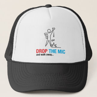 Drop The Mic Trucker Hat