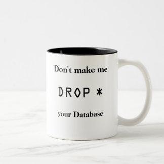 DROP * Two-Tone COFFEE MUG