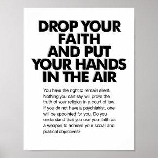 Drop Your Faith Miranda Poster