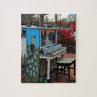 Dropping by for a Ditty in Dublin Jigsaw Puzzle