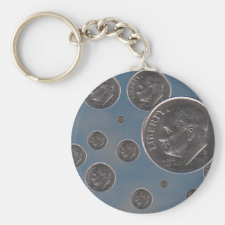 """"""" dropping Dimes """" Keychain"""