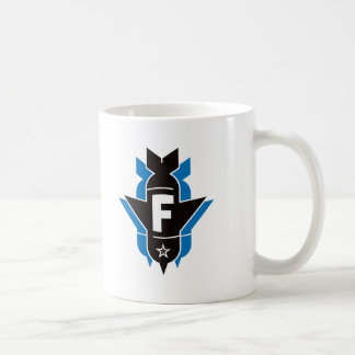 Dropping F Bombs - Blue Coffee Mugs