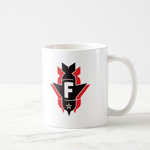 Dropping F Bombs - Red Coffee Mugs