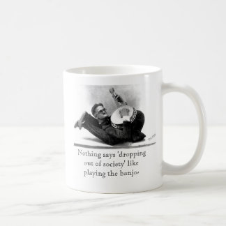 'dropping out of society' mug