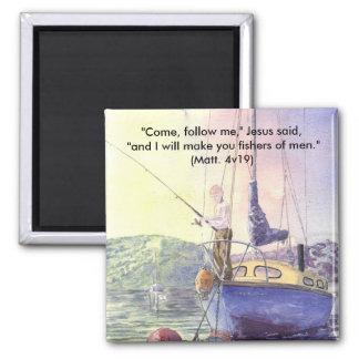 'Dropping the Hook (Christian)' Magnet