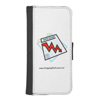 Dropping The Pounds iPhone 5/5S Cell Phone Wallet