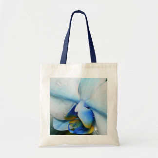 Drops on Blue Orchid Tote Bag