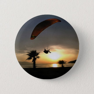 Dropzone At Dusk 2 Inch Round Button