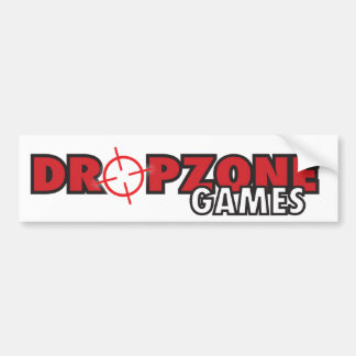 DropZone Games Bumper Sticker