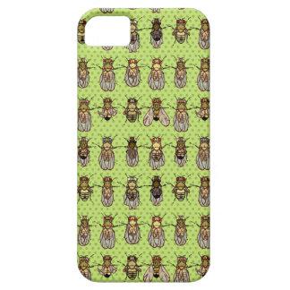 Drosophila Fruit Fly Genetics - mutants - Lime iPhone 5 Covers
