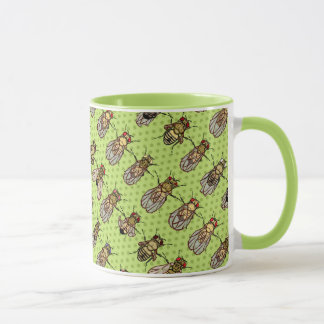 Drosophila Fruit Fly Genetics - mutants - Lime Mug