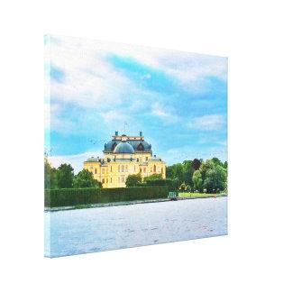 Drottningholm Palace in Sweden Canvas Print