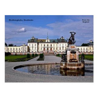 Drottningholm, Stockholm, Photo ... Postcard