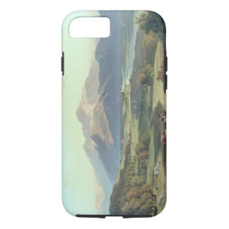 Drover on Horseback with his Cattle in a Mountaino iPhone 7 Case