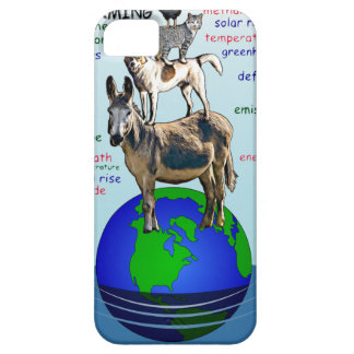 Drowning earth, sea level rise,global warming iPhone 5 covers