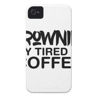 Drowning My Tired iPhone 4 Case-Mate Case