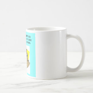 drowning your troubles coffee mug