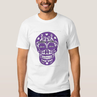DRS Purple skull Tee Shirts
