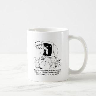 Drug Cartoon 6512 Coffee Mug