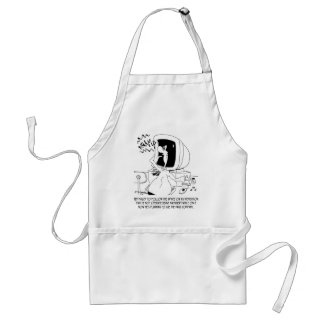 Drug Cartoon 6512 Standard Apron