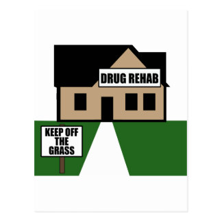 Drug Rehab Postcard