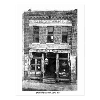 Drug Store Circi 1900 Postcard