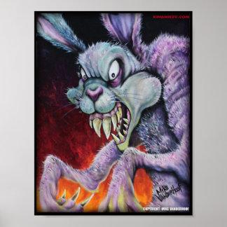 Drugs Bunny - Color Print