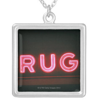 Drugs Silver Plated Necklace