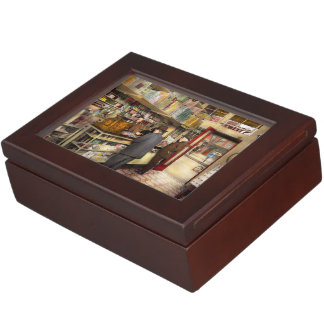 Drugstore - Exact change please 1920 Keepsake Boxes