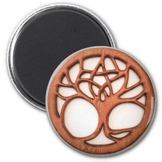 Druid Tree with Hidden Pentacle Magnet