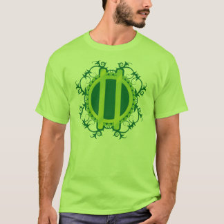 Druid Wreath and Staves T-Shirt