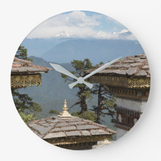 Druk Wangyal Chortens Large Clock