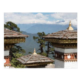 Druk Wangyal Chortens Postcard