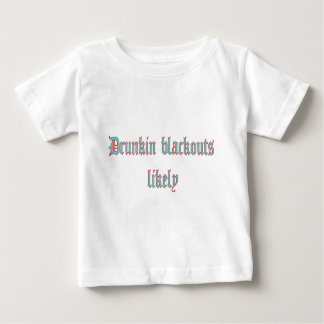 drukin black outs likely t shirt