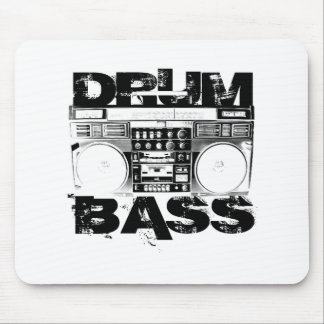 Drum and Bass Mouse Pad