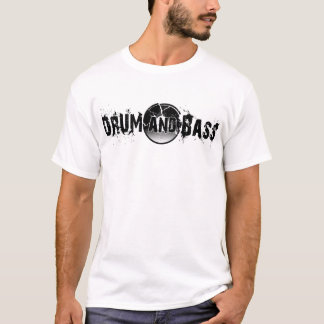 Drum and Bass Shattered Record T-Shirt