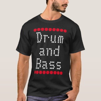"""Drum and Bass"" t-shirt"