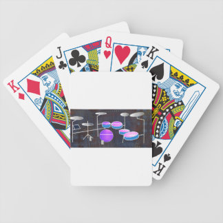 Drum Beat Bicycle Playing Cards