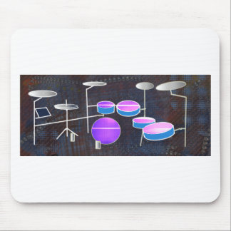 Drum Beat Mouse Pad